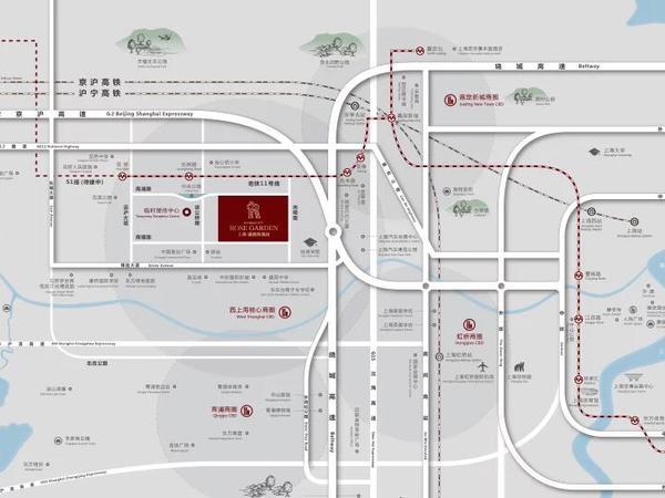 花桥 法式花园洋房 融创开发 自带商业街
