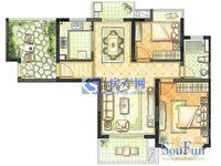 珠江御景豪华装修三房,一直空关 满五唯一