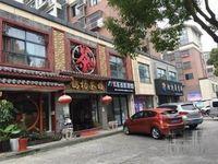 昆山梧桐广场沿街旺铺,可做重餐饮,现铺,年租金8万
