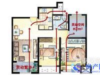 青青家园89平精装修大三房.三房朝南