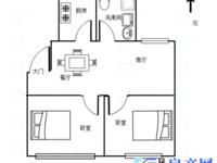 红杨花园78平2房,满2年,带7平车库,3楼中间楼层,房东换房急售随时可以签约