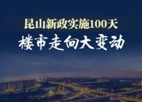 昆山新政实施100天,楼市走向变动