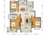 华润国际,纯毛坯3 房2卫,南北通透,中间楼层,采光全天候,急卖,看房随时。