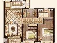高端社区 经典小3房 景观楼层娄江双校区 房东缺钱急售 超值价格 小区只此一套