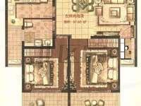 玉山城东 左岸尚海湾精装大2房 中央空调双阳台采光极好 花园洋房得房率高诚心出售