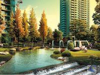 真实价格面积,时代中央社区,精装修大四房,送大入户花园,双阳台南北通透,视野开阔