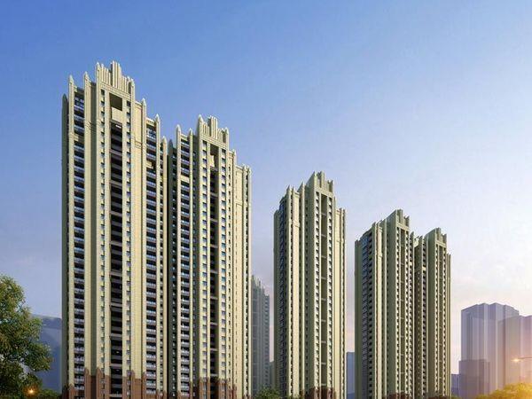 万达华府新小区、配套完善环境好、景观楼层南北通透、全新大三房纯毛坯、满两年税少