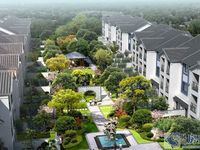 锦溪古镇中心,锦院精装联排别墅,人车分流,送南北花园,诚售。