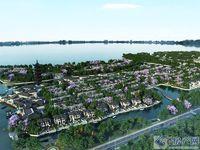 岛尚溪园,环境优美,联排别墅,精装全南户型,赠送朝南大露台。
