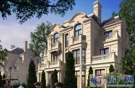 独家委托,小区在售价格zui低别墅!法式建筑,高端别墅小区,物业相当到位!
