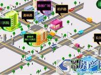 梧桐广场:九方城商圈,步行5分钟,南北正3房,清水毛坯,房东做生意急用钱甩卖