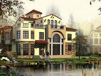 城西 中大易墅大独栋 靠河位置有钥匙看房独家销售