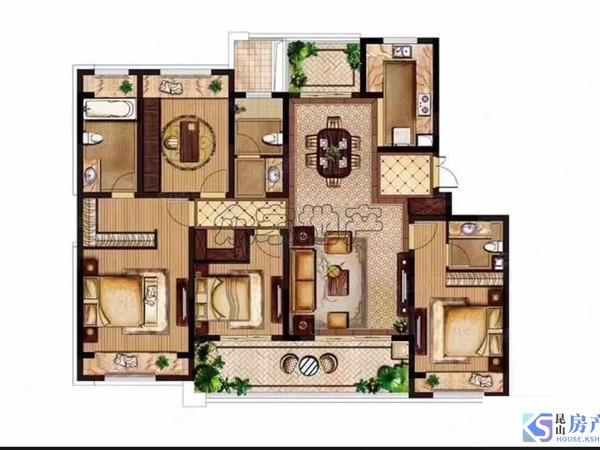 稀缺大平层,二中旁的新小区,房东诚心出售,好学区好位置