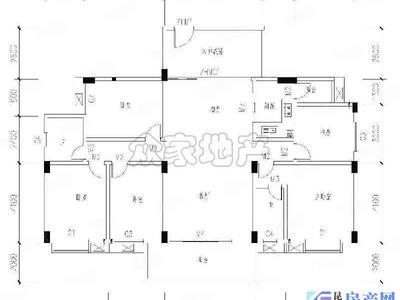 城西高端小区,昆玉九里洋房,180平豪华装修140万,品牌家具,前后带大阳台,