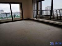 时代悦庭 有钥匙 纯毛坯送中央空调 稀缺东边套 中间楼层 三个大阳台朝南