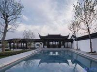 一湖涵日月一岛藏春秋,花园900平,占地两亩,苏式园林独栋!