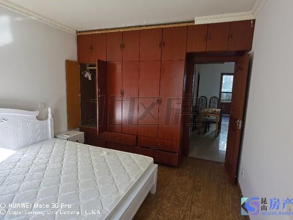 湖滨花园 大2房 有钥匙 3楼 家具家电齐全 拎包入住、