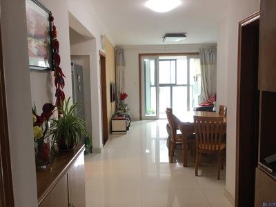 新城域5期小3房,南北通透精装自住带家电家具诚心出售145W