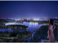 网红打卡地大渔湾音乐喷泉尽收眼底 兰亭御园景观3房诚心出售 随时看房