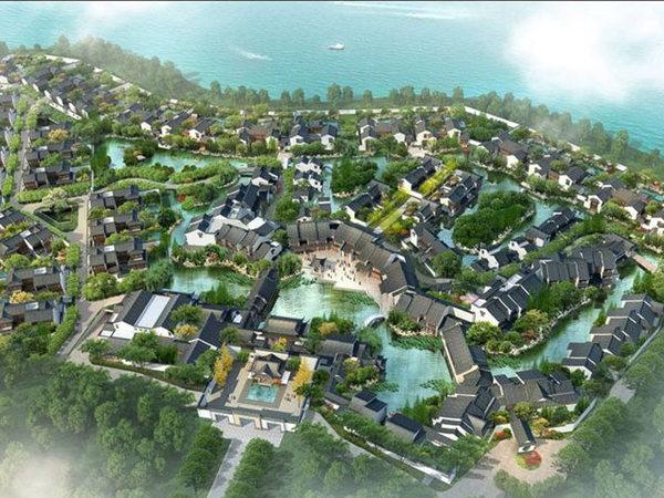 阳澄湖半岛别墅,联排别墅 挑高大横厅 送100平大花园