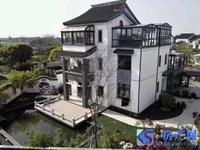 无锡独栋园林式别墅 建筑面积400平 送花园700平 花园面积上产证 太湖边上