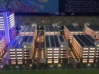 南通一手厂房,单价1900元,层高7 8米,二到五楼3.8米,独立产权土地证!