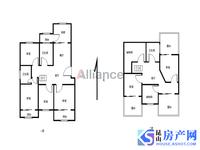 森隆蓝波湾毛坯复式、可以做6房两厅3卫!超级划算!毛坯房给你自由的装修空间
