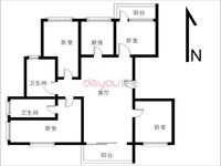 3房的价格买南北通透大四房2梯2户小高层前后无遮挡南北双阳台可以4房何必3房