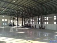 南通全新厂房,纯一楼钢结构,层高9米,使用年限50年,机械加工电子包材