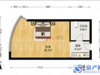 东方丽池 70年产权公寓 可落户可上学 机遇房 家电齐全 拎包入住 房东诚心出售