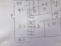 江南明珠苑 中间位置 全新装修 满2年 学区未用 南北通透 诚心出售 真实房源