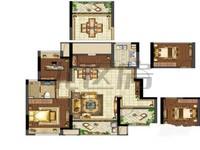 柏丽湾 花园洋房 89平 4房南北通透 169万