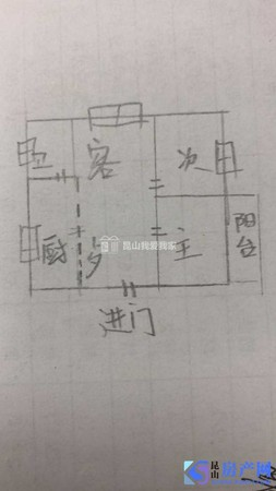 出售西湾新村2室2厅1卫78.7平米146万住宅