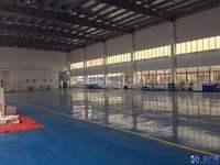 昆山周市 单层厂房1700平 办公200平 车间高度8米 带行车 价格28元