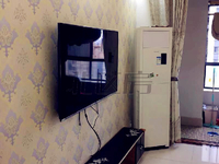 万达广场 精装修两房 装修20多万 家具家电齐全 都不带走 有一个买断的车位