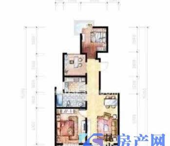 城西 标准两房 房东换房 诚心出售 拎包入住