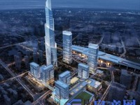 建滔地标中心,480米摩天大楼,不限购,不限贷,民用水电,全新精装,通天然气!!