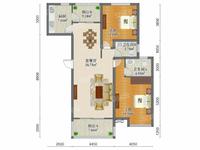 出售金塘园2室2厅2卫103.5平米220万住宅出门就是两千平空中花园