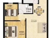出售绿地21新城2室2厅1卫71平米117万住宅