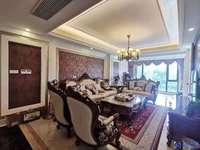 昆玉九里欧式大平层,全套高档家具,慕思床垫,大灯全铜欧式风格,拎包入住,采光好