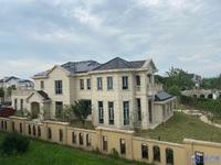 泰泓花园独栋别墅土地面积2100平,南临河花园超大