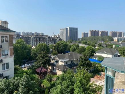 江南明珠苑精装大复式景观楼层。送汽车库