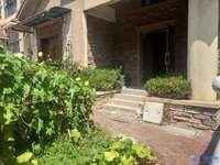 地铁口!紫怡花园联排边套,270平纯毛坯大5房,三面环绕大花园150平,有钥匙