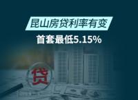 昆山房贷利率有变,首套最低5.15%