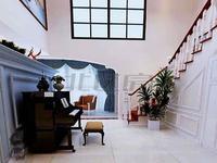 世茂空中别墅,电梯复式,豪华装修80万,简约欧美范带百米花园