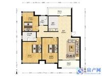 娄江中小学可读书 地铁沿线房 时代悦府大3房 房型极佳 看房有钥匙