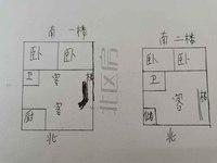 江南新村 二中 黄金楼层 陪读最佳 复式大4房房型 看房随时 有钥匙