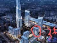 昆山地标高铁站对面昆山的CBD 准现房发售 现场看房小户型总价低回报高月租金五千