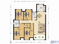碧悦湾新推160平大平层,南北通透精装大4房2卫,房东诚心出售,比毛坯价格还便宜