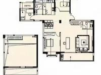 城西高档小区稀缺复式 赠送40平 位置好 景观楼层